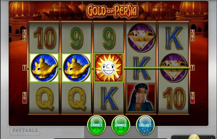 Gold of Persia slot - Casumo Casino